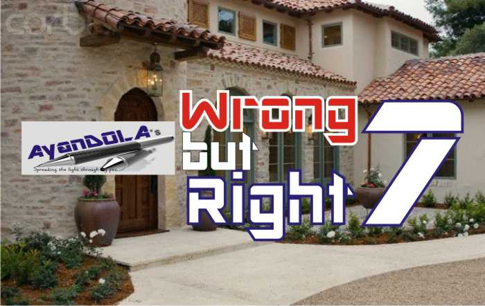 WRONG BUT RIGHT?: CHAPTER SEVEN