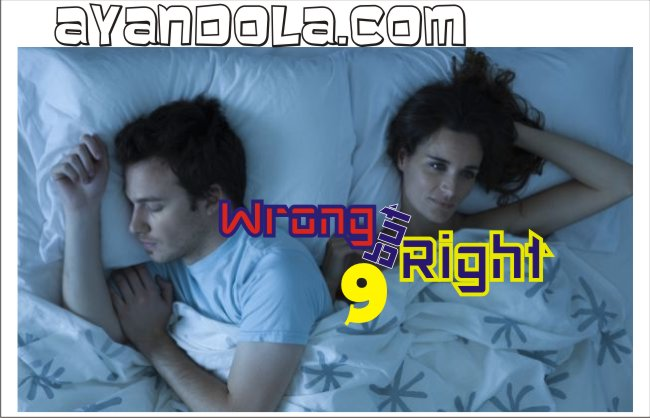 WRONG BUT RIGHT?: CHAPTER NINE