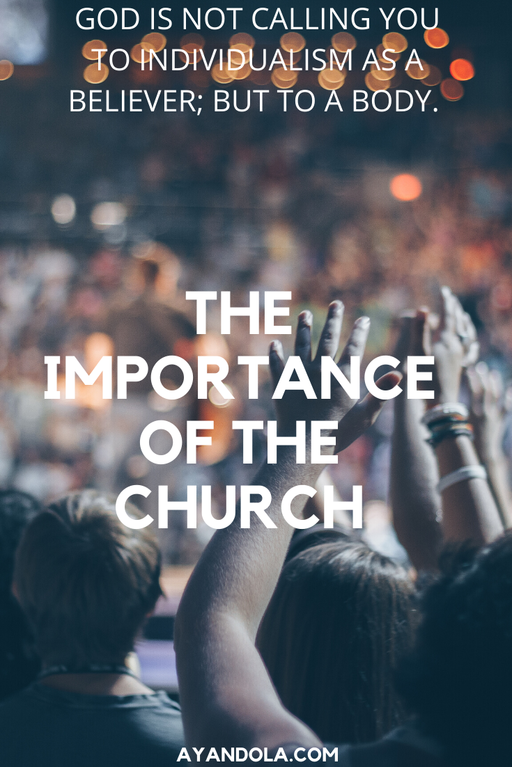 THE CHURCH IS IMPORTANT