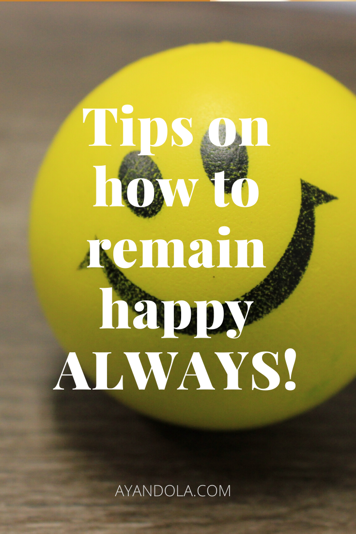 how to remain happy