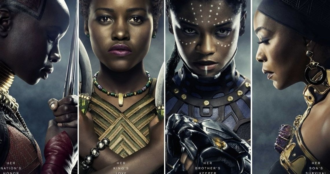 THE WOMEN OF WAKANDA