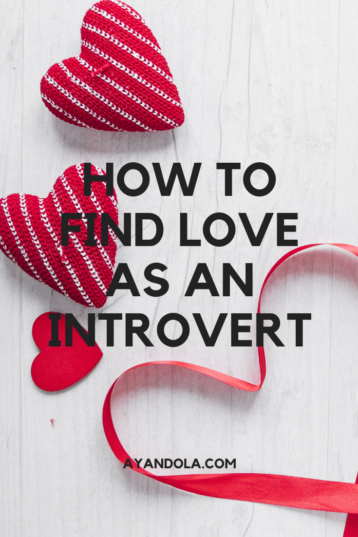 find love as an introvert